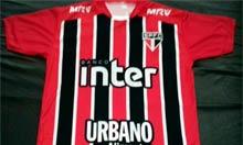 Camiseta São Paulo FC Vermelha