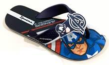 Chinelo Avengers Infantil Capitão América Ipanema