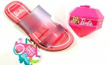 Sandália Grendene Kids Barbie Surprise + Brinde