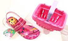 Sandália Infantil Grendene Shopkins Colorfull + Brinde