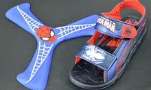 Sandalia Homem Aranha com Bumerangue