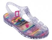 Sandália Infantil Minnie Rainbow - Glitter