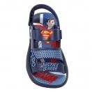 Sandália Infantil Grendene Liga Da Justiça SuperMan c/ Brinquedo
